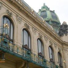 art nouveau a Praga Casa Municipale