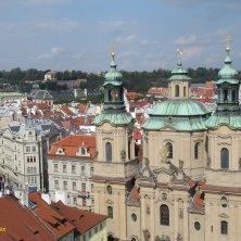 chiesa di San Nicola dall'alto Praga