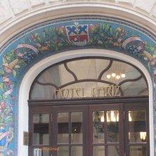 decori art nouveau hotel Praga