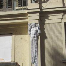 dettagli art nouveau a Praga