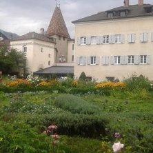 giardino palazzo vescovile Bresanone