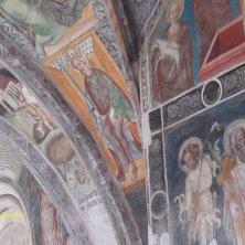 particolare affreschi chiostro Bressanone