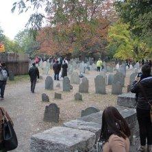 passeggiata al cimitero Massachusetts