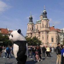 pupazzi in piazza della Città Vecchia Praga