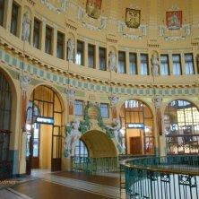 stazione Praga art nouveau