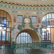 stazione centrale art nouveau Praga
