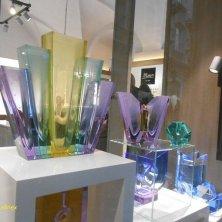 vetrina cristalli a Praga