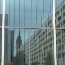 Dessau riflessa sul Museo Bauhaus