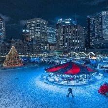 Toronto d'inverno Natale Piazza N. Phillis @NPS