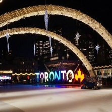 Toronto d'inverno Natale