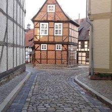 casa medievale a Quedlinburg