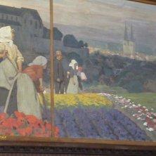 dipinto di Quedlinburg al municpio