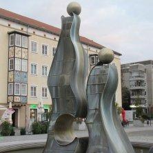 fontana moderna a Dessau