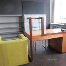 ufficio del direttore alla scuola Bauhaus Dessau