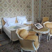 camera da letto a casa Ceausescu Bucarest