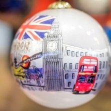 pallina souvenir londinese