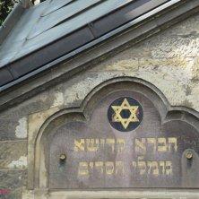 dettagli fuori al cimitero ebraico