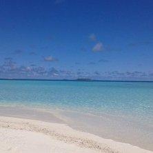 lingua di sabbia Maldive