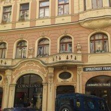 palazzo quartiere ebraico Praga