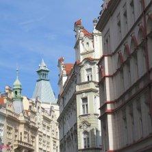 scorcio Praga dal quartiere ebraico