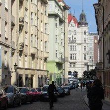 strada quartiere ebraico Praga