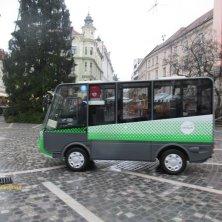 taxi elettrico gratuito a Lubiana