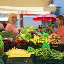 al mercato di Lubiana