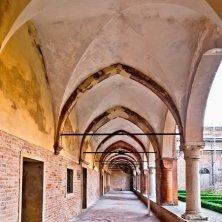 chiostro abbazia Polirone