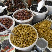 olive al mercato di Chania