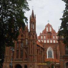 chiese di Vilnius gotiche Sant'Anna