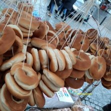 collana di ciambelle tipiche San Casimiro