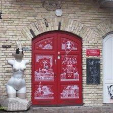 ingresso incubatore d'arte Vilnius