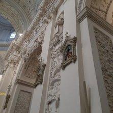 interno barocco SS Pietro e Paolo chiese di Vilnius