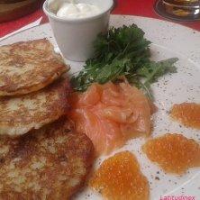 piatto salmone cucina lituana