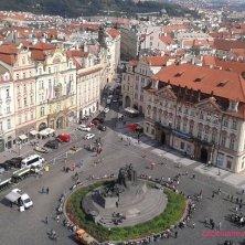 piazza della Città Vecchia dall'alto