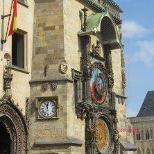 torre del Municipio e orologio di Praga