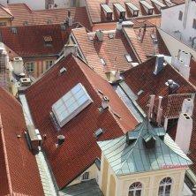 vista sui tetti di Praga