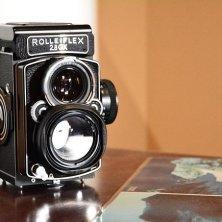 Macchina fotografica Rolleiflex - Una delle macchine utilizzate per documentare il lavoro di campo