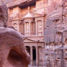 il Tesoro visto da un lato Petra