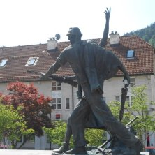 monumento ai minatori Idrija