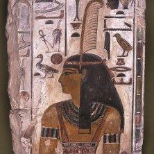 Rilievo raffigurante la dea Maat