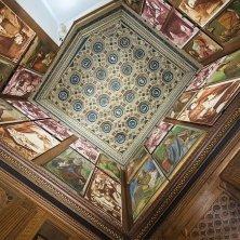 Soffitto Studiolo del Duca Urbino