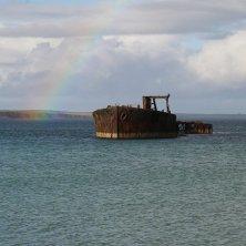 Scafa Flow Orcadi arcobaleno
