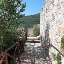 percorso all'interno del borgo