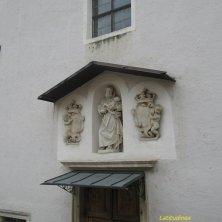 sulla chiesa dei cappuccini Chiusa