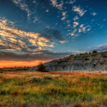 South unit scenery at Theodore Roosevelt National Park. Credit NPS