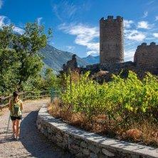 VALLE D_AOSTA-Castello di Châtel Argent - Villeneuve (foto Enrico Romanzi)-Cammino Balteo