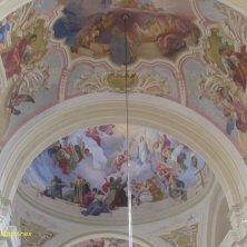 interno chiesa della Visitazione Valle di Cristallo