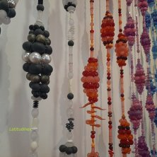 tendina di perline al museo