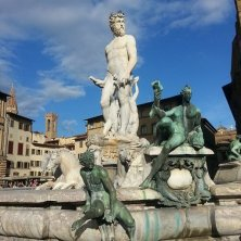 Nettuno in piazza della Signoria Fantasmi di Firenze